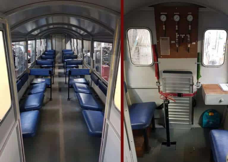 Bala Lake Railway Carriage