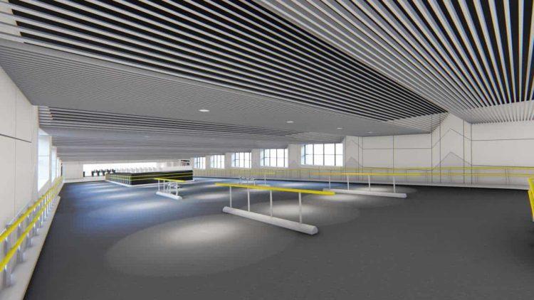 Euston station Ramp platforms 8-11 Visualisation View