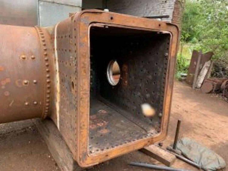Loco 1604 firebox