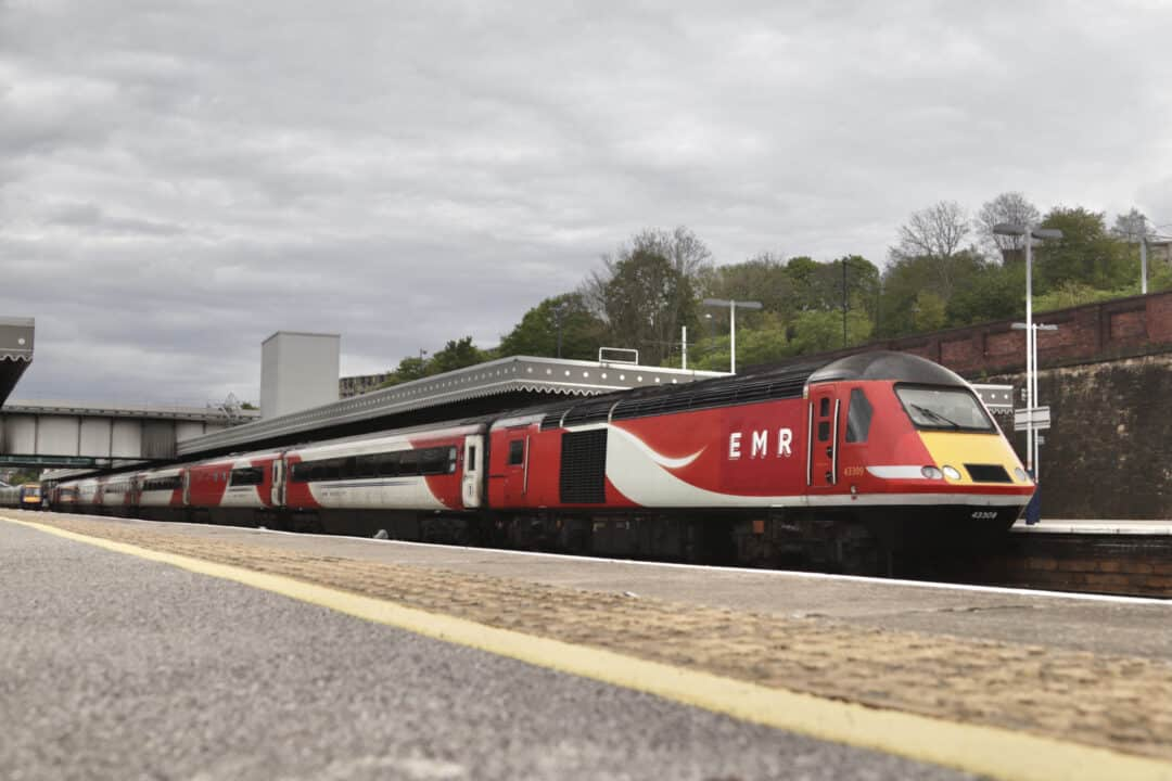 Final Day of East Midlands Railway operating HST services