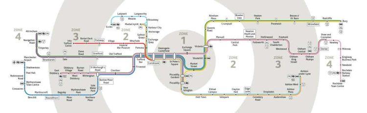 Metrolink network map 2020