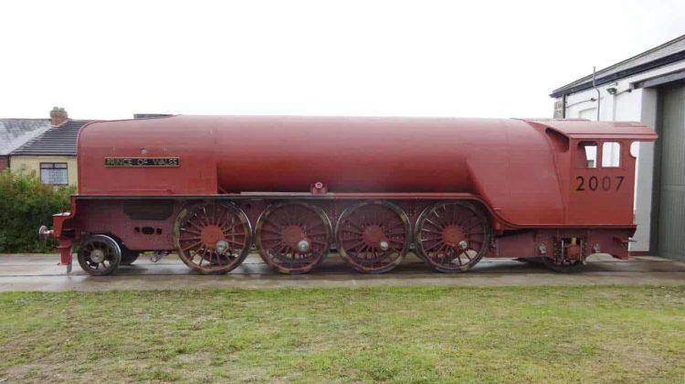 No. 2007 with nameplate outside Darlington Locomotive Works_A1SLT