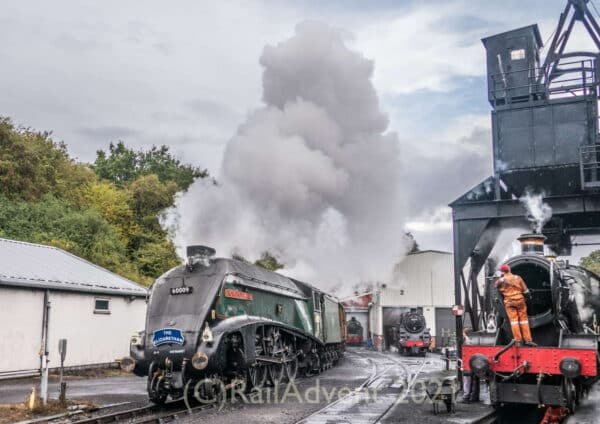 60009 Union of South Africa at Grosmont MPD, North York Moors Railway
