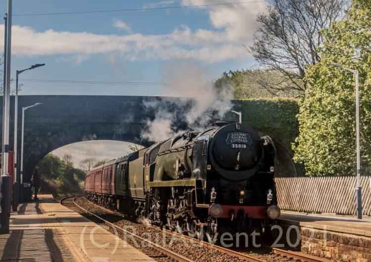 35018 British India Line passes through Long Preston