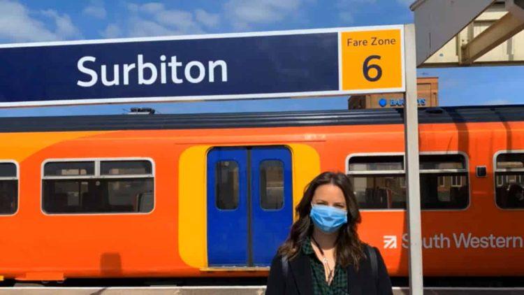 Surbiton Station, Pippa Watson