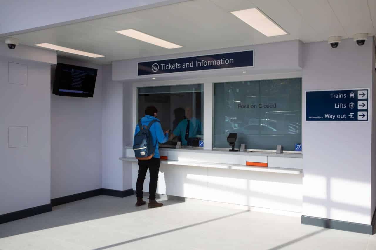 Swanley Railway Station Ticket Office