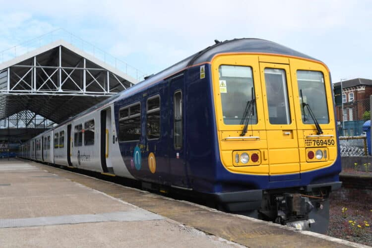 Northern Class 769 at Southport