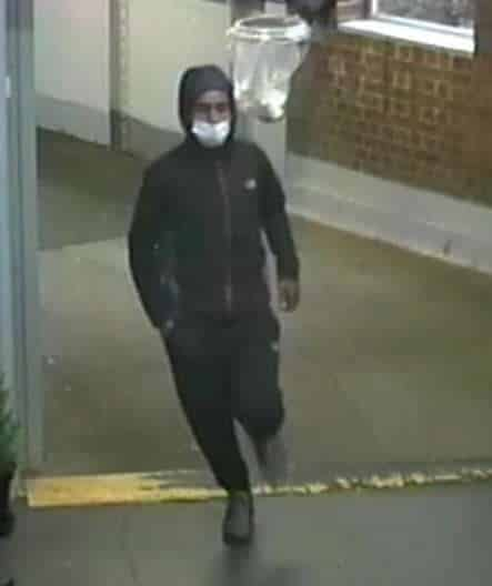 Falonwood railway station robbery