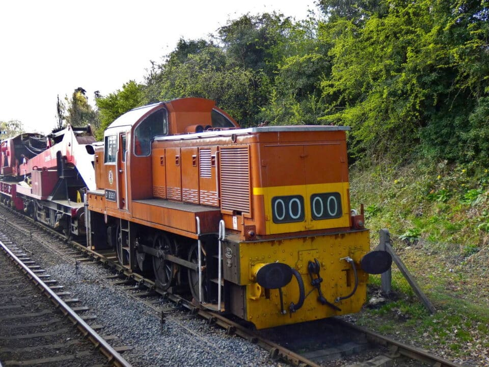 D9551 on the Severn Valley Railway