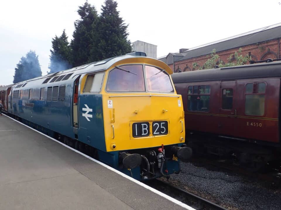 Pioneer Service at the Severn Valley Railway