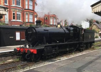 3802 goes on test at the Llangollen Railway
