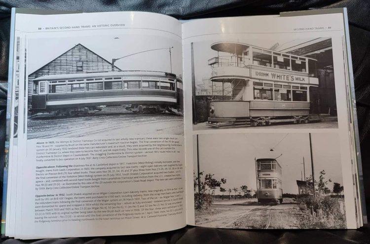 Britains Second Hand Tram book