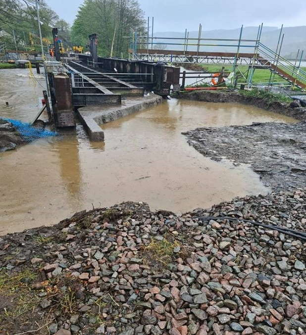 Black Bridge flooding May 2021