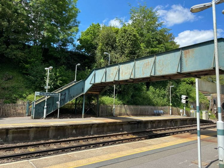 Box Hill and Westhumble station