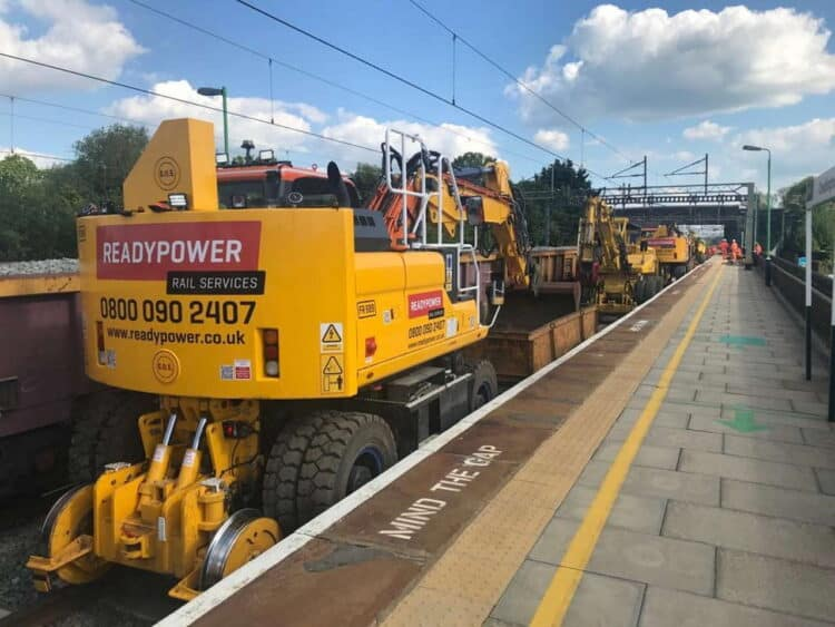 Cheddington drainage work late May Bank Holiday 2021