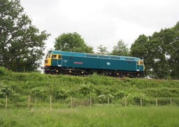 47077 North Star approaching Bishops Lydeard