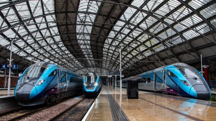 TransPennine Express trains