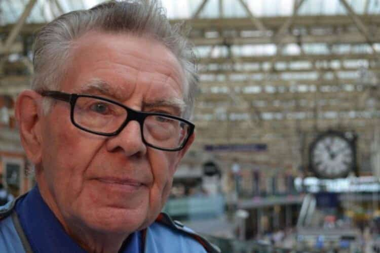 Don Buckley Britains longest serving railway employee