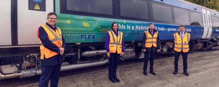 Porterbrook's HybridFLEX hybrid train