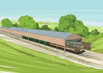 Herston carriage shed artist's impression KEVIN WILLIAMSON