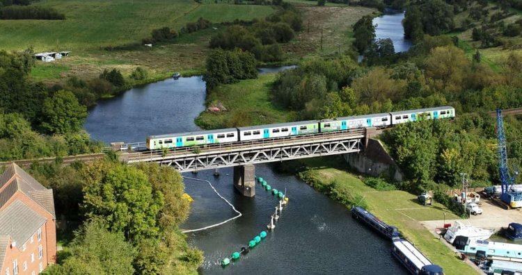 HydroFLEX travelling over river Avon