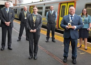 Merseyrail Golden Whistle 2021 (for performance in 2020) - Birkenhead Central station