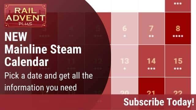 Mainline Steam Calendar