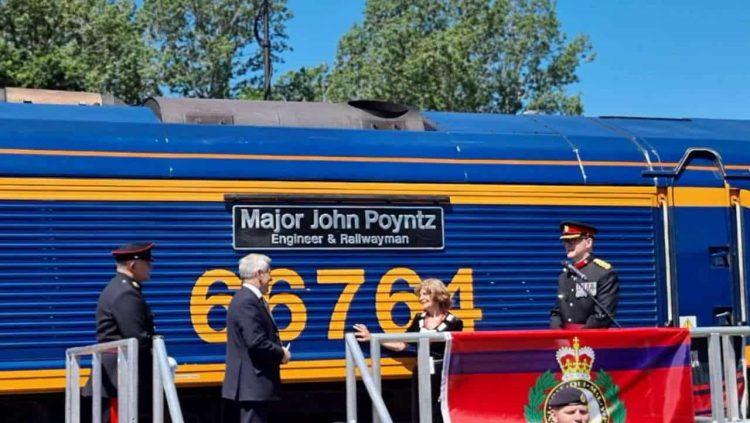 Major John Poyntz news cover
