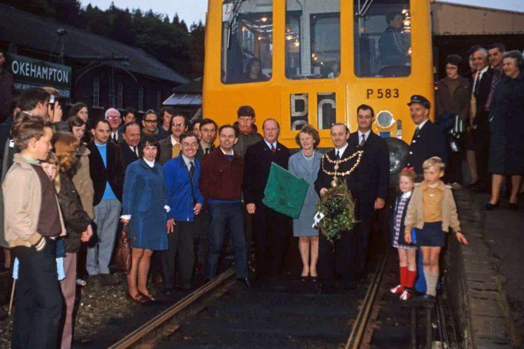 Okehampton last train June 3 1972