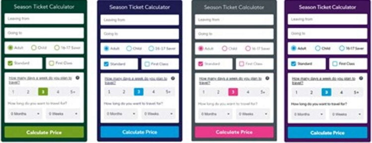 Govia Thameslink Railway Season Ticket Calculator
