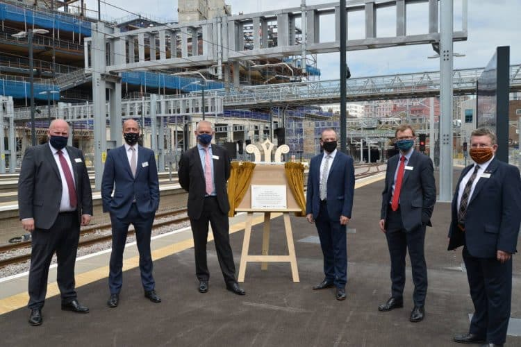 Plaque unveiled at London Kings Cross after upgrade