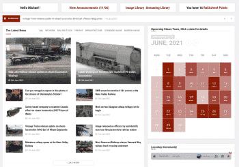 RailAdvent Plus Homepage