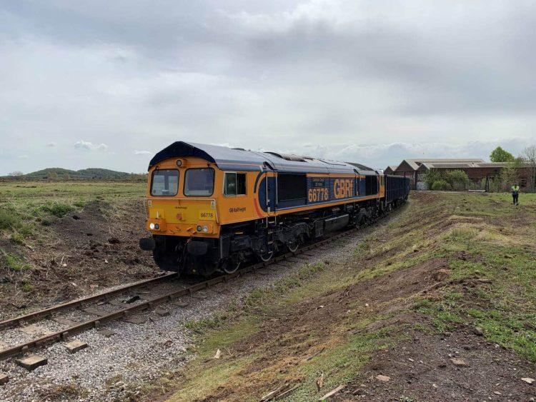 GB Railfreight runs first service from Stanton Gate