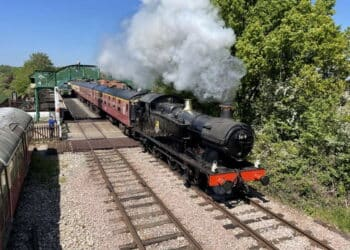 Steam loco at Epping Ongar Railway