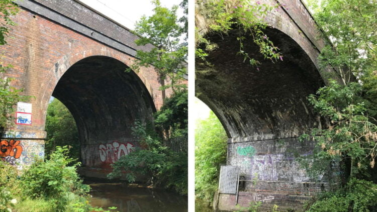 Stechford viaduct composite 1