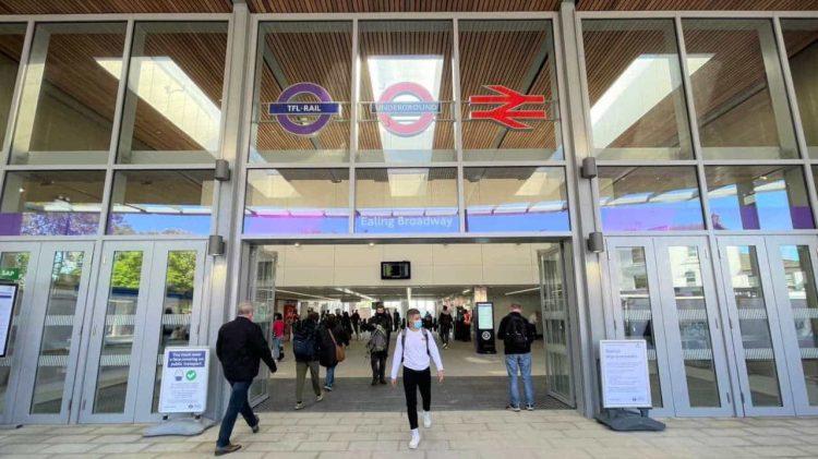 TfL Image - Ealing Broadway Station Entrance with passengers_web