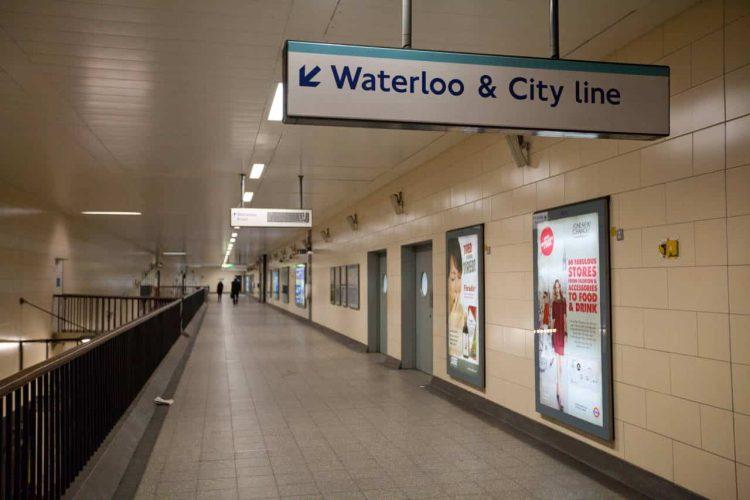 Waterloo & City line sign