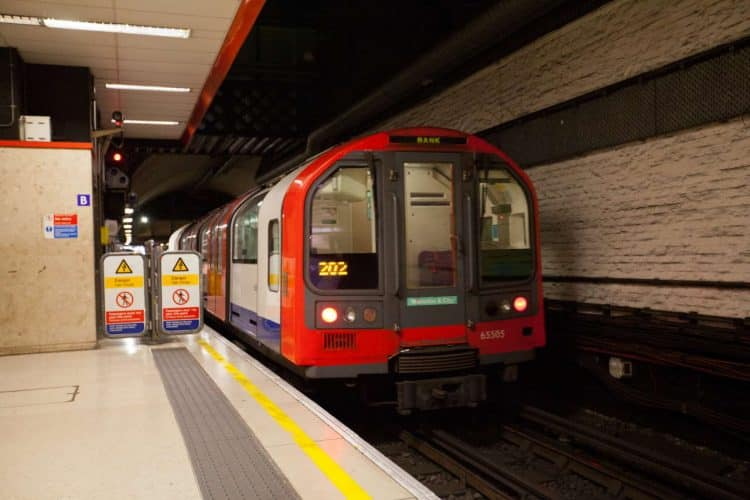 TfL Image - Waterloo & City line train