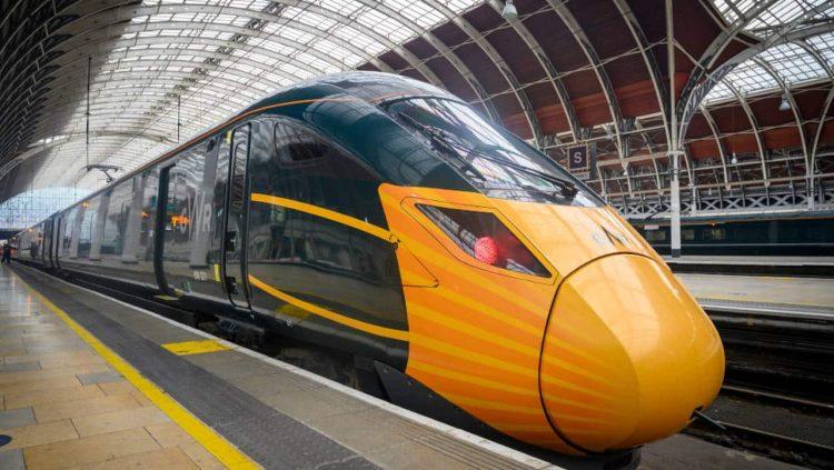 GWR IET at London Paddington
