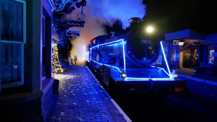 Severn Valley Railway Steam in Lights