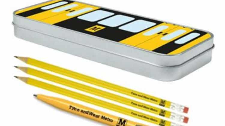 Tyne & Wear Metro Pencil Case