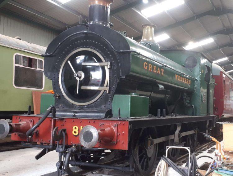 813 on the Mid Norfolk Railway