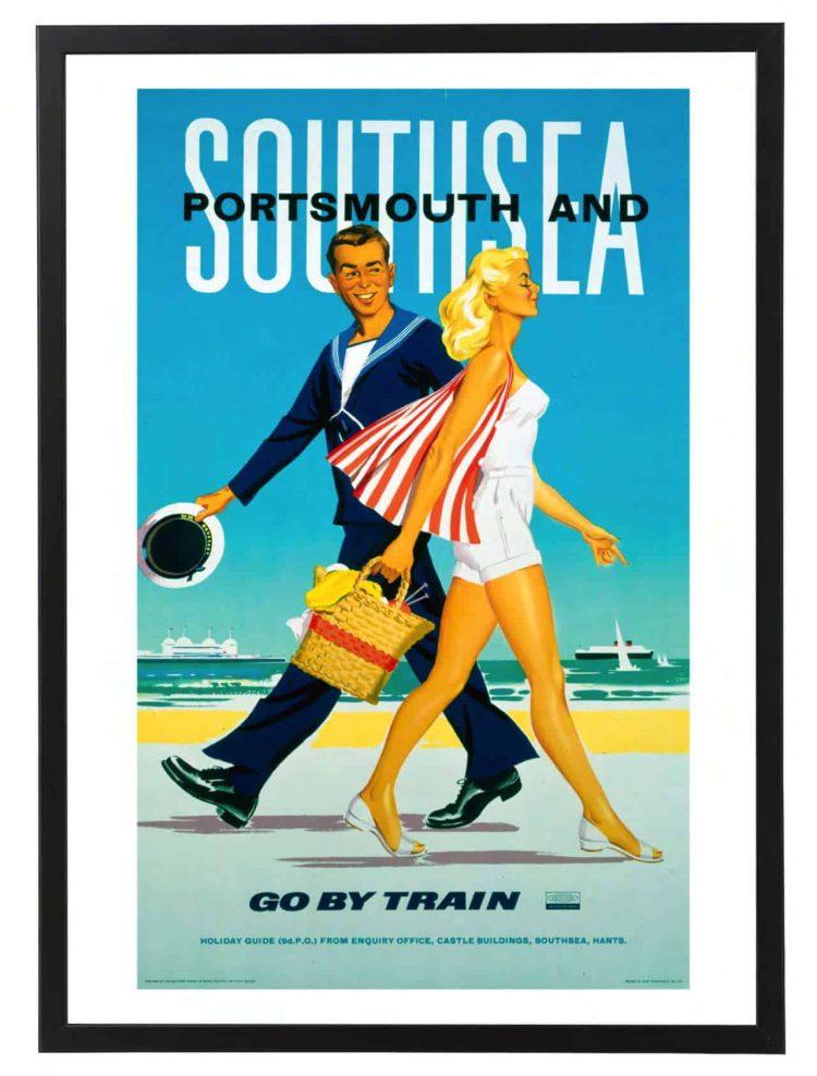 Portsmouth rail poster