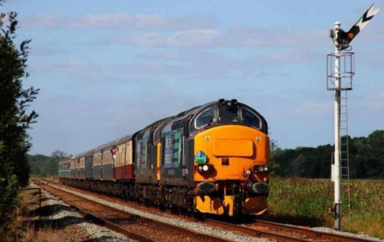 Class 37s on a Retro Railtours tour