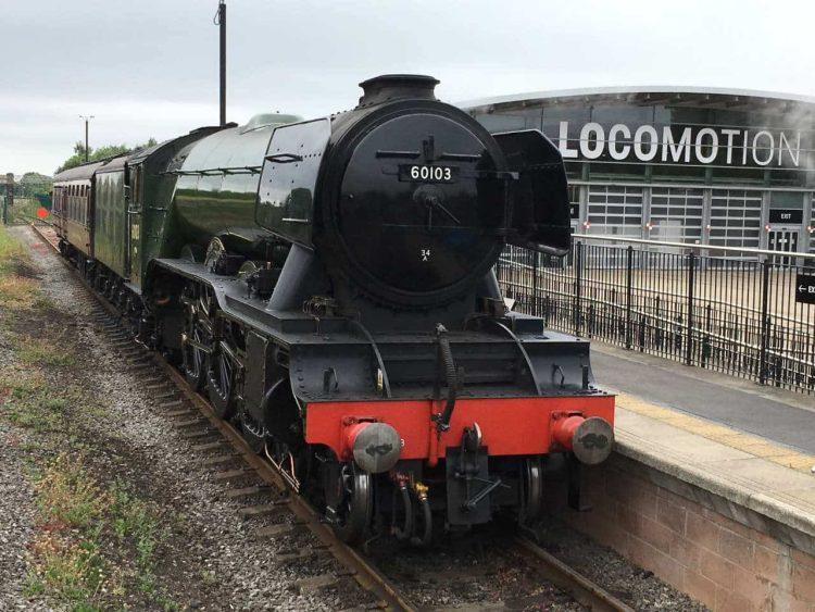 60103 arrives at Locomotion