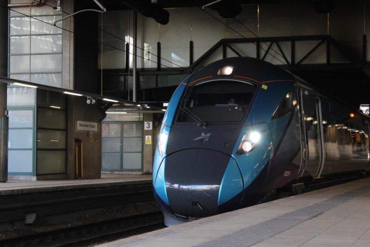 TransPennine Express Class 802 at Manchester Victoria