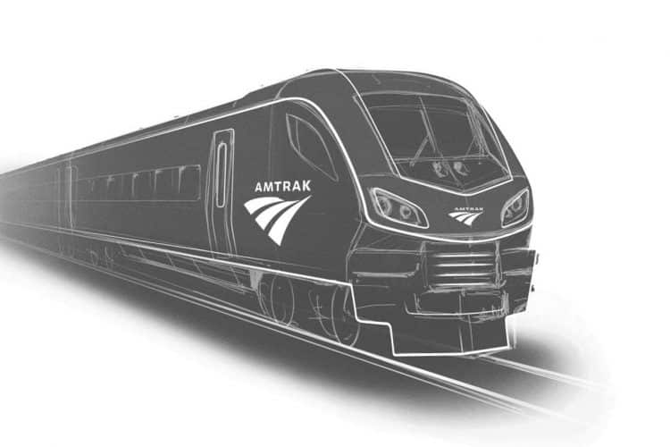 Amtrak sketch loco