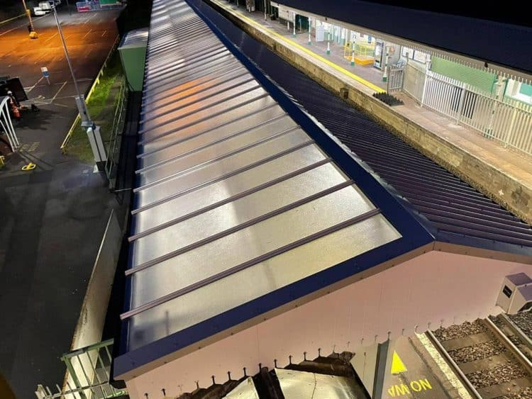 Canopy at Shoreham-by-Sea station