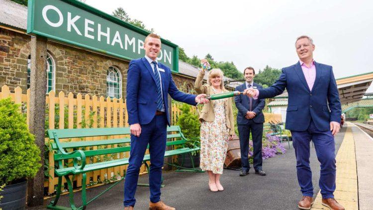Dartmoor Line and Okehampton Station handover