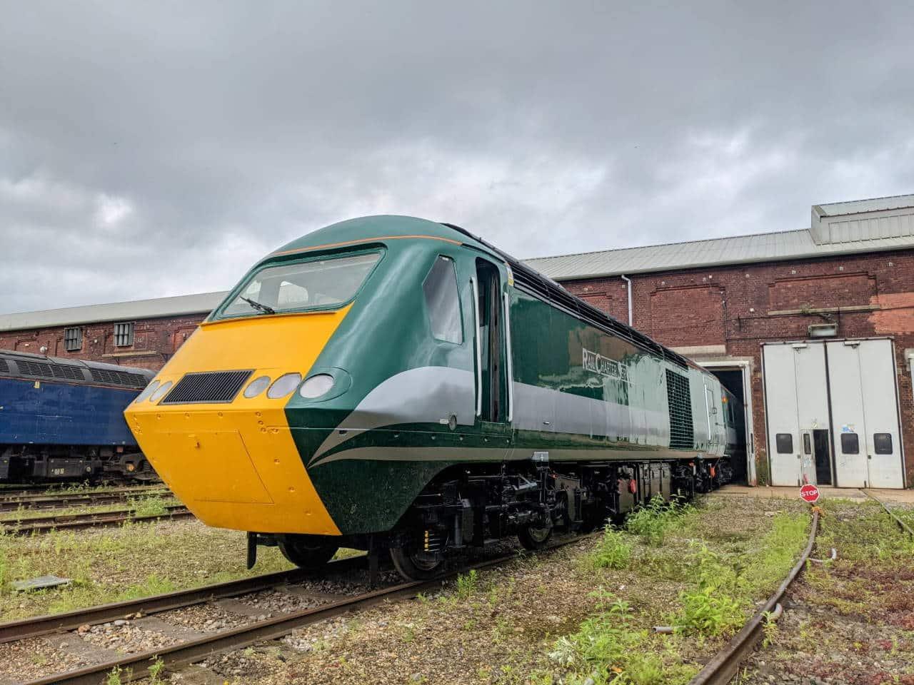 Rail Charter Services HST